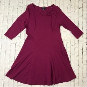 Forever21. A-line Purple Dress